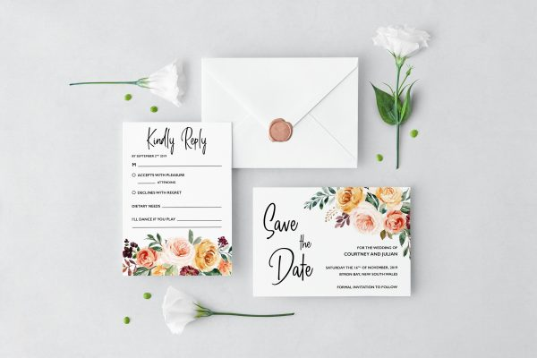 Summer Breeze Wedding Set