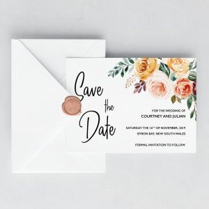 Summer Breeze Save the Date Cards