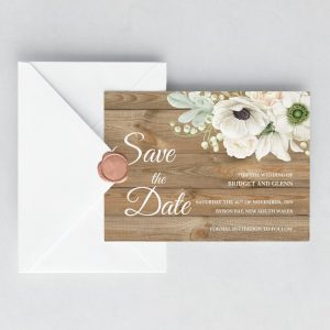 Winter Wonderland Save the Date Cards