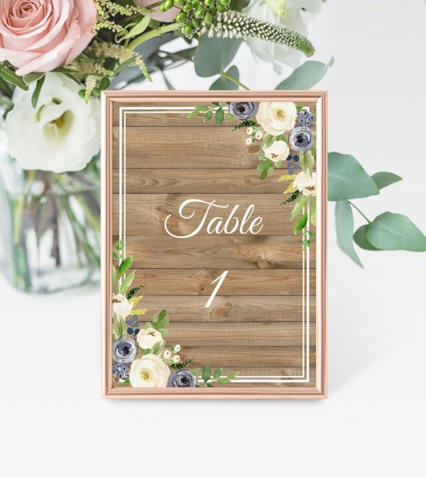 Forever After Table Numbers