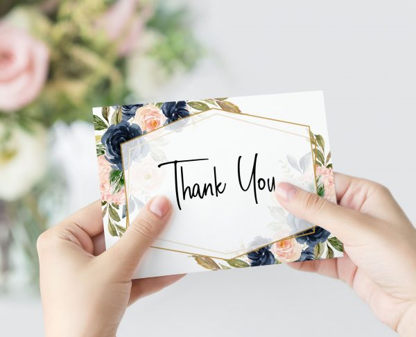 Cottage Enchantment Thank You Card