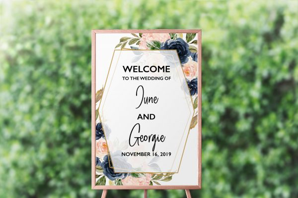 Cottage Enchantment Welcome Sign