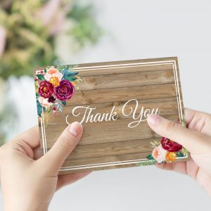 Cottage Garden Thank You Card