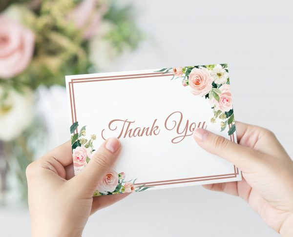 Dusty Belle Thank You Card