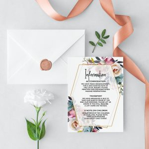 Dusty Posies Information Card
