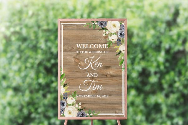 Forever After Welcome Sign
