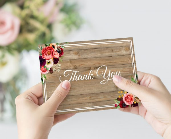 Forever Lover Thank You Card