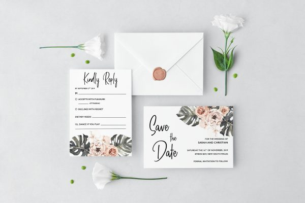 Leilani Wedding Set