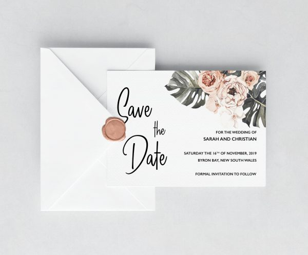 Leilani Save the Date Card