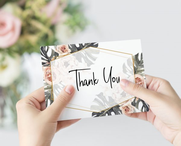 Leilani A6 Thank You Card