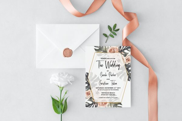 Leilani Wedding Invitation