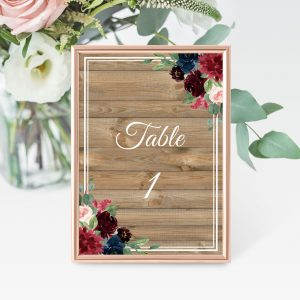 Love Affair Table Numbers