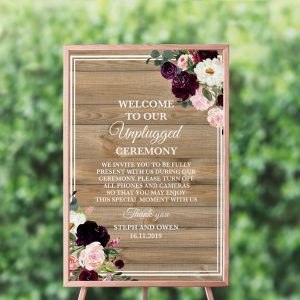 Sugar Plum Gardens Unplugged Sign