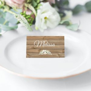 Winter Wonderland Place Cards