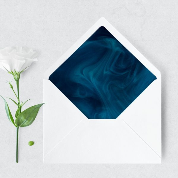 Blue Smoke Envelope Liner