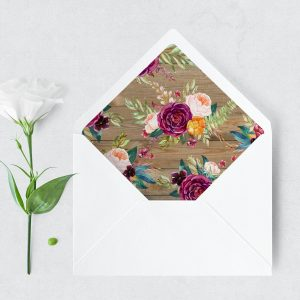 Cottage Garden Envelope Liner