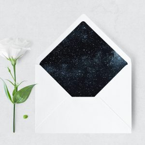 Midnight Sky Envelope Liner